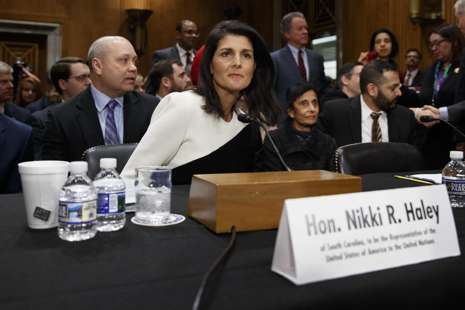 Nikki Haley supports Jerusalem embassy move