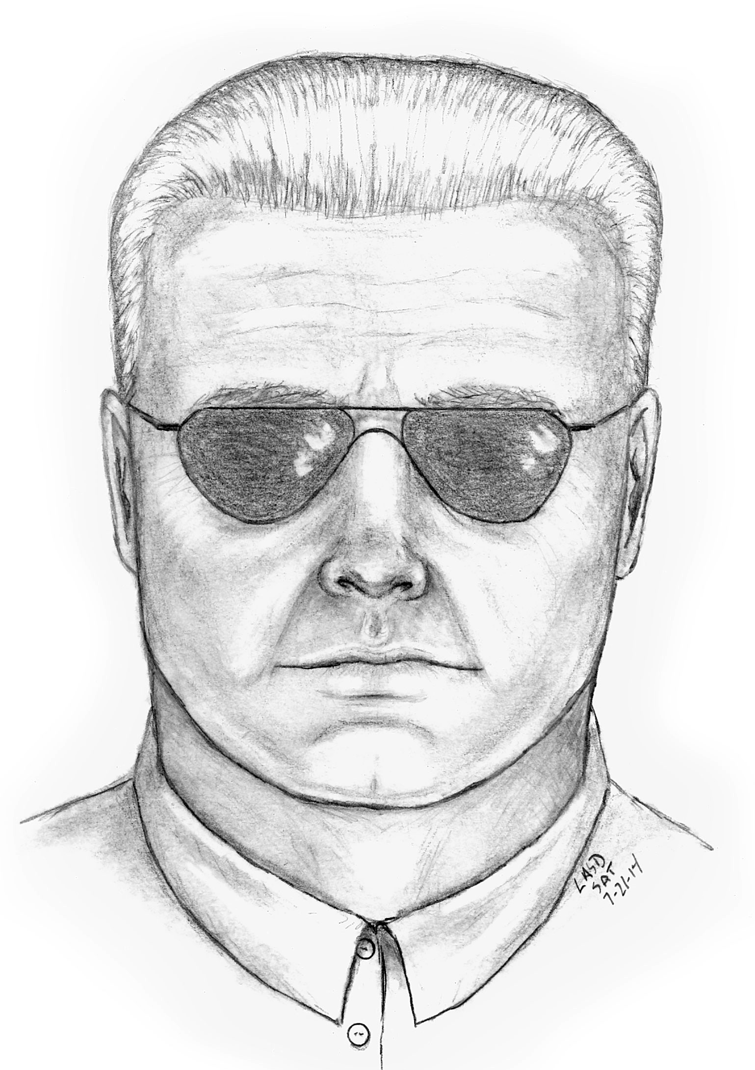 Officials release sketch of suspect in peacock shooting death