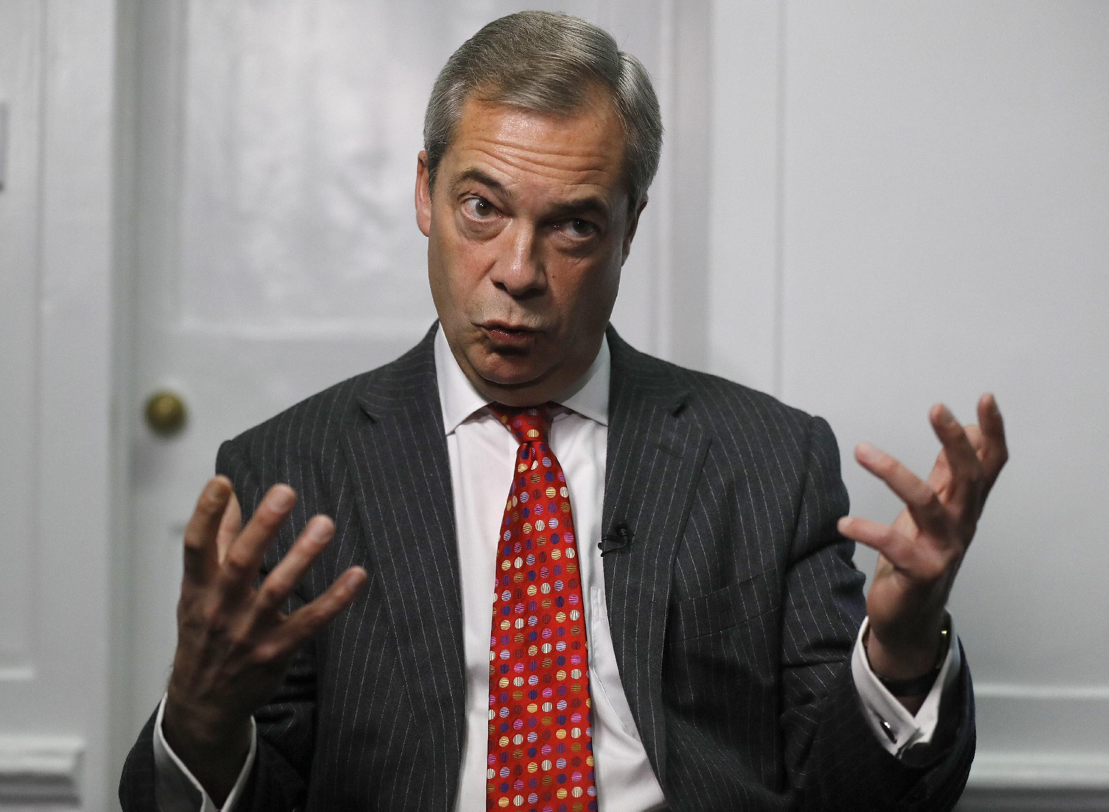 Farage interview: Far-right win in France would doom EU
