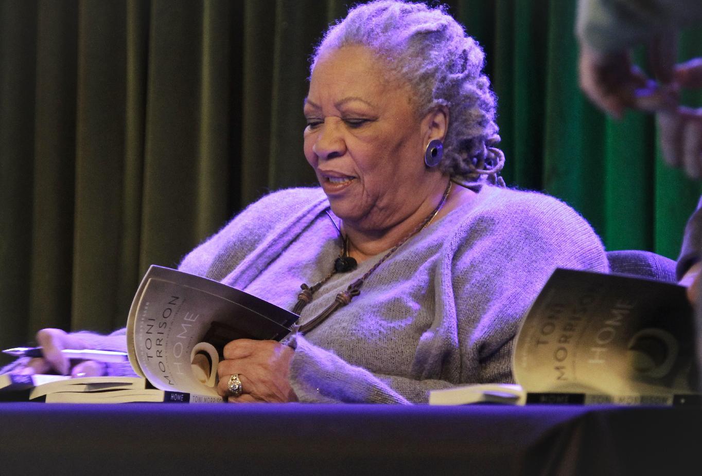 Toni Morrison sets her new novel in an alien world: Today