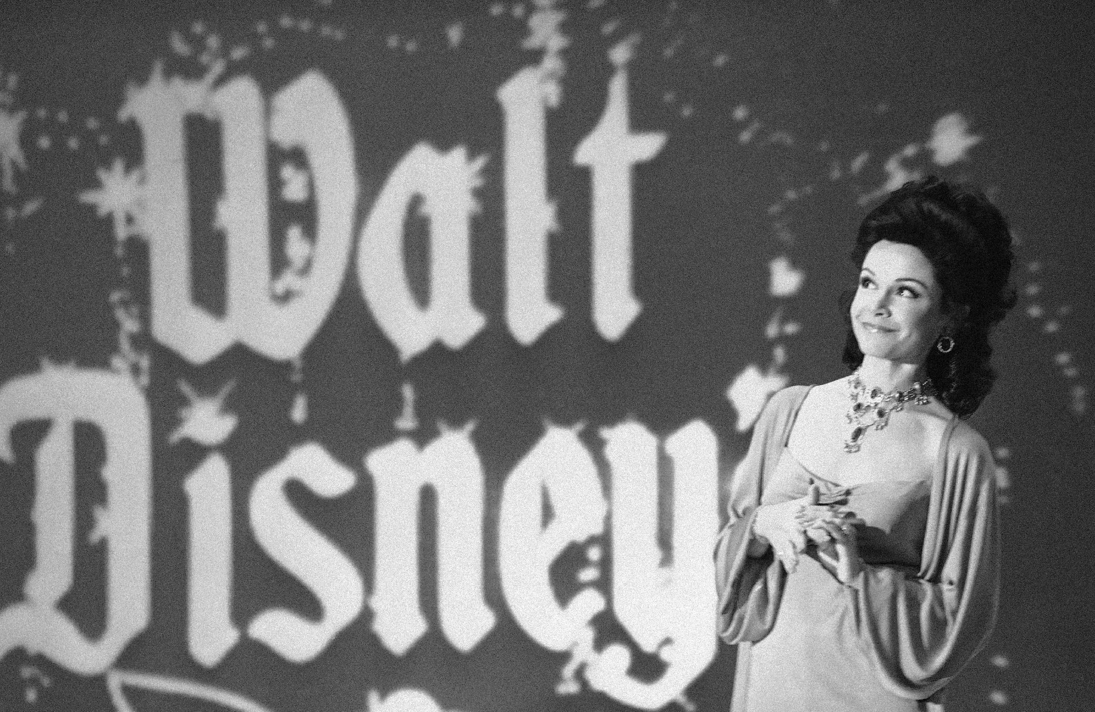 """FILE - In this Jan. 3, 1978 file photo, actress Annette Funicello recalls moments when she played a """"Mouseketeer"""" on ABC's first successful daytime television show,""""The Mickey Mouse Club"""" in Los Angeles, while she was taping an ABC Silver Anniversary Celebration special. Walt Disney Co. says, Monday, April 8, 2013, that Funicello, also known for her beach movies with Frankie Avalon, has died at age 70. (AP Photo/Lennox McLendon, File)"""