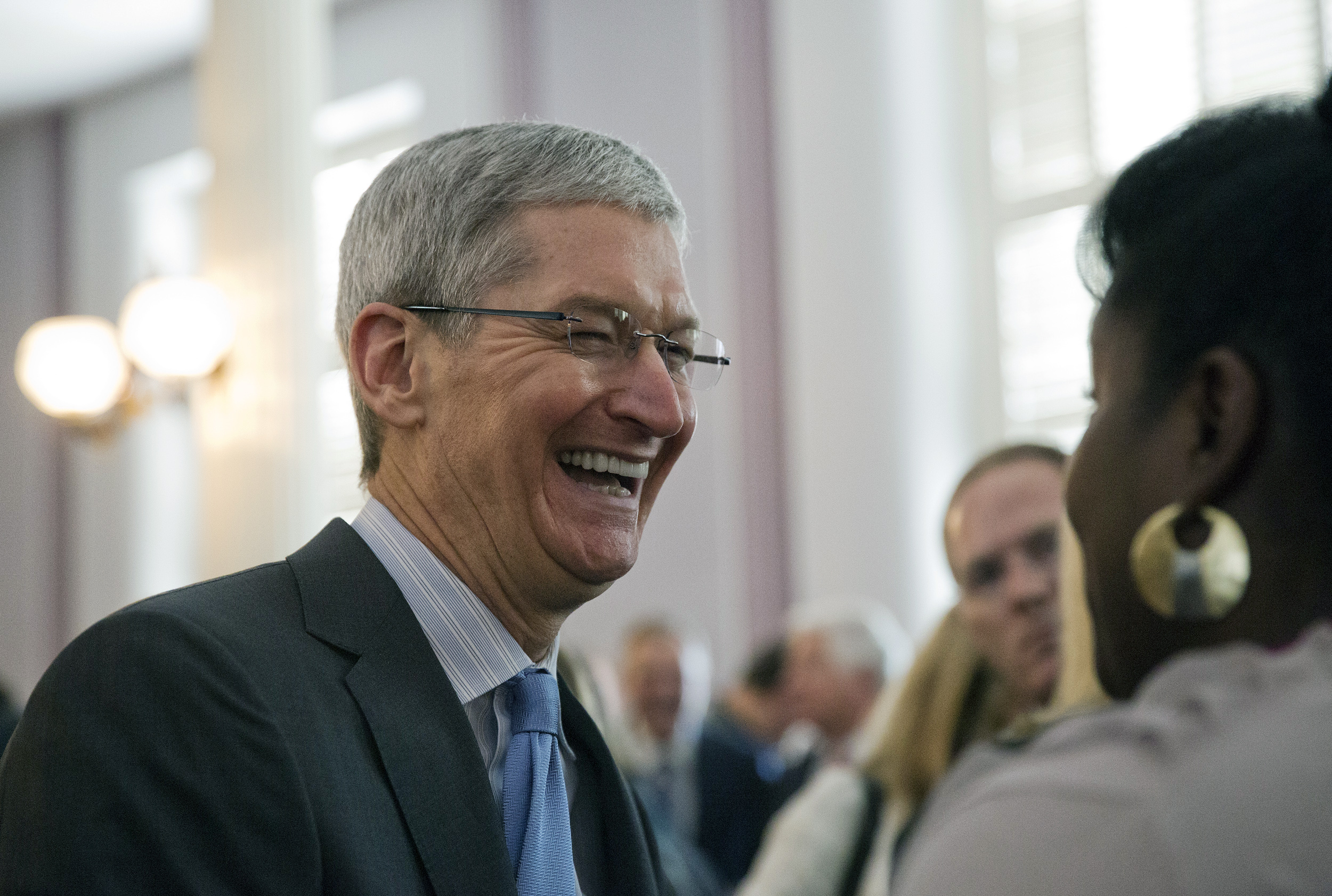 'I'm proud to be gay,' says Apple CEO Tim Cook