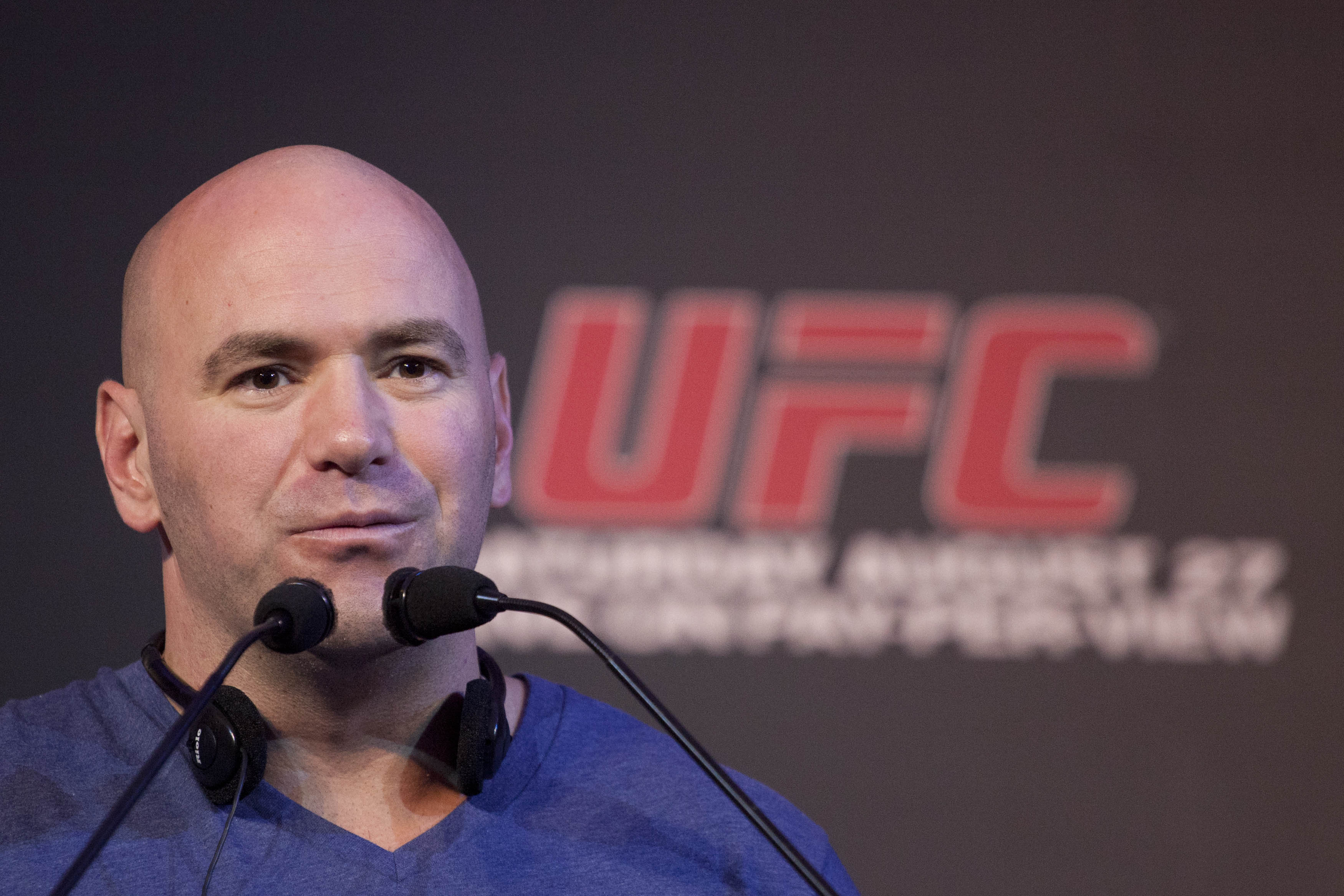 UFC president Dana White is bullish on the flyweight division's potential. (AP)