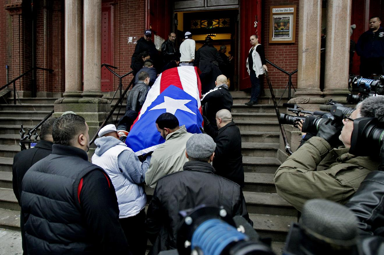 funeral held for boxer 'macho' camacho in nyc