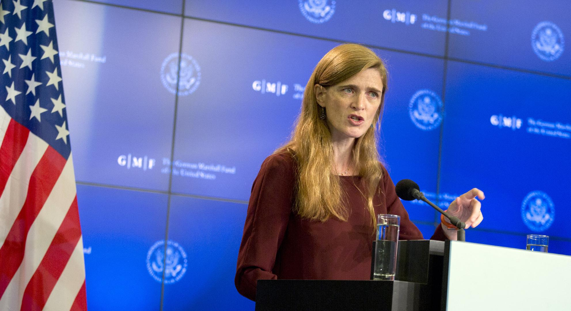 World must do more to fight Ebola: UN envoy Power