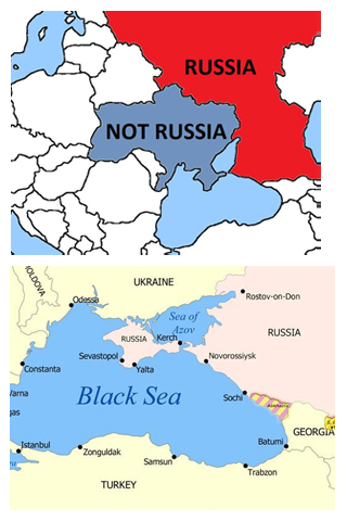 Russia replies to Canada's colorful map tweet