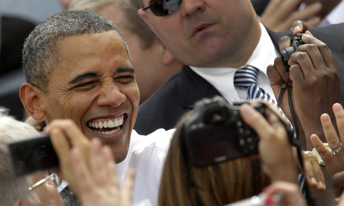 fiery obama embarks on march to the dem convention