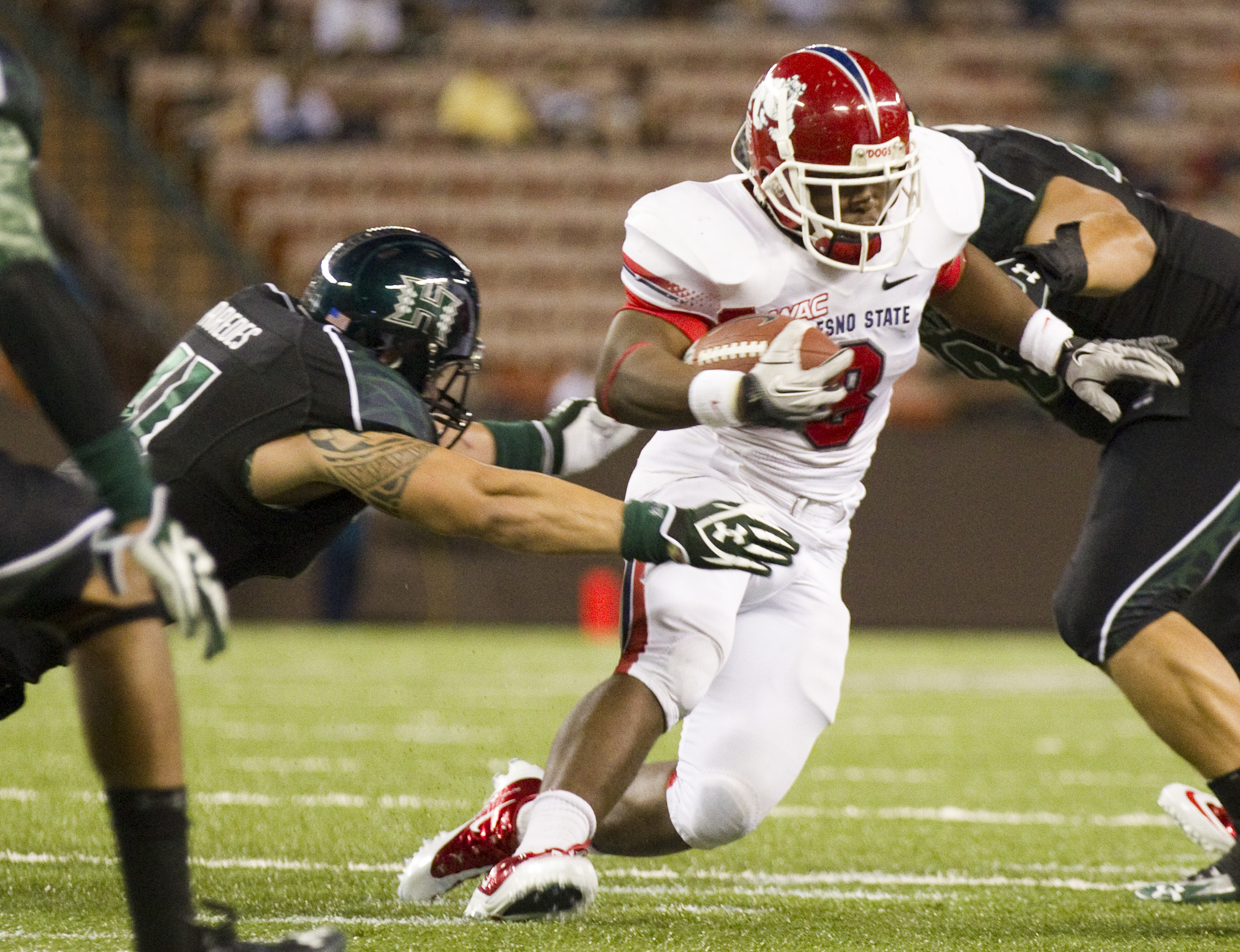 Robbie Rouse has been a productive back for Fresno State and will be a three-year starter. (AP)