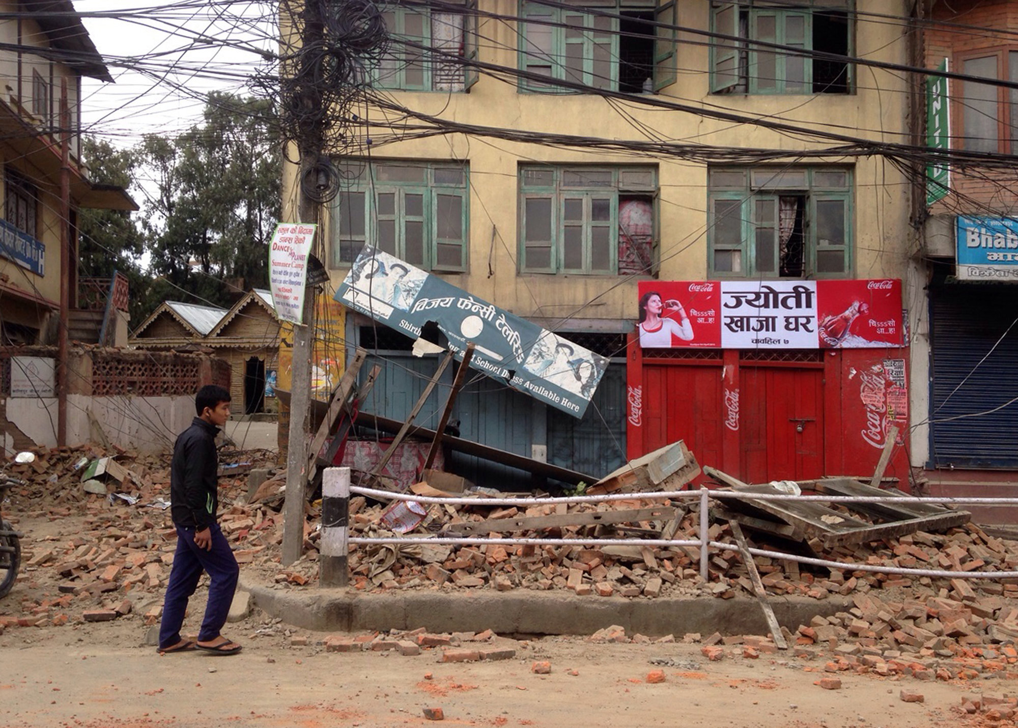 Photos from the ground: Devastating earthquake hits Nepal