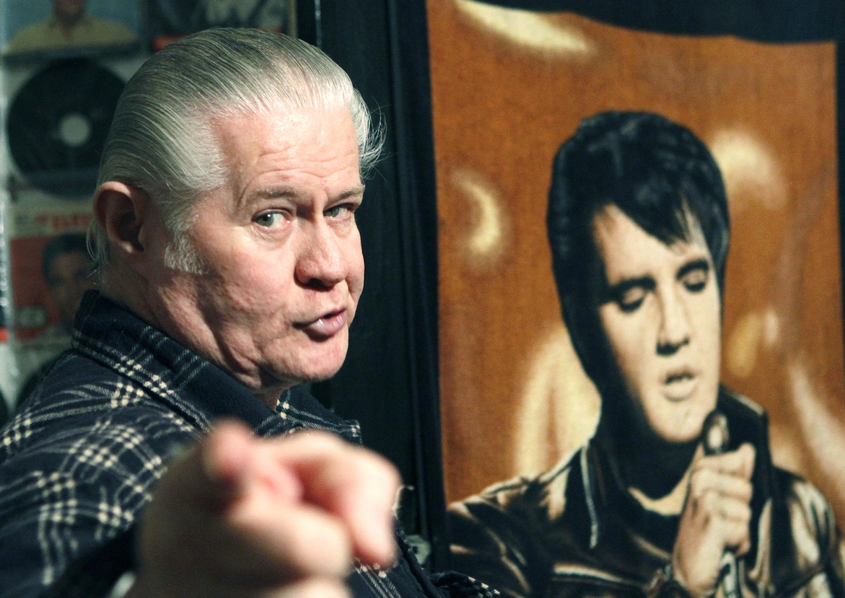 Kitschy treasure trove of Elvis tribute items up for auction