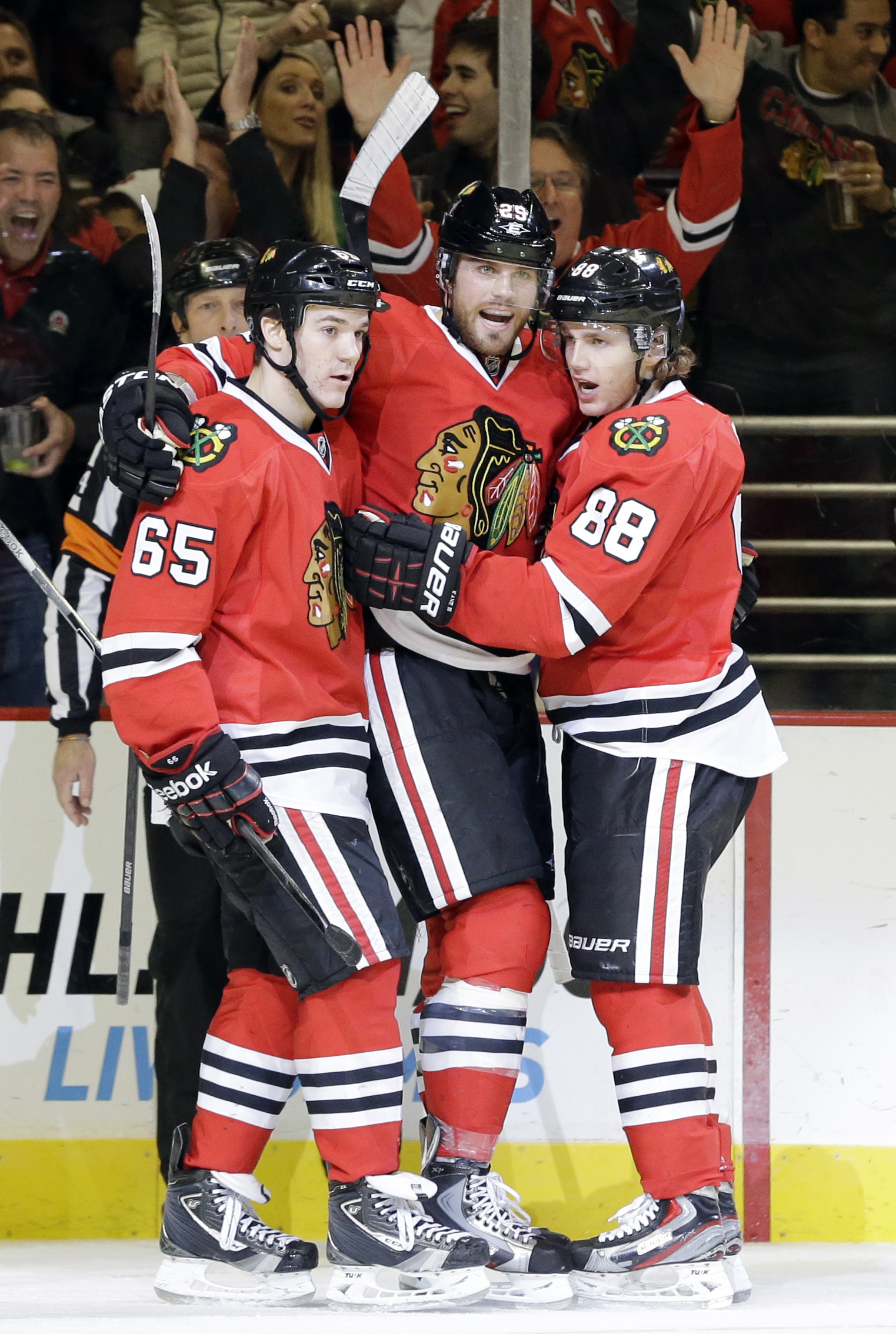 The record-setting 'Hawks have top-to-bottom depth like they did when they won the Cup in 2010. (AP)