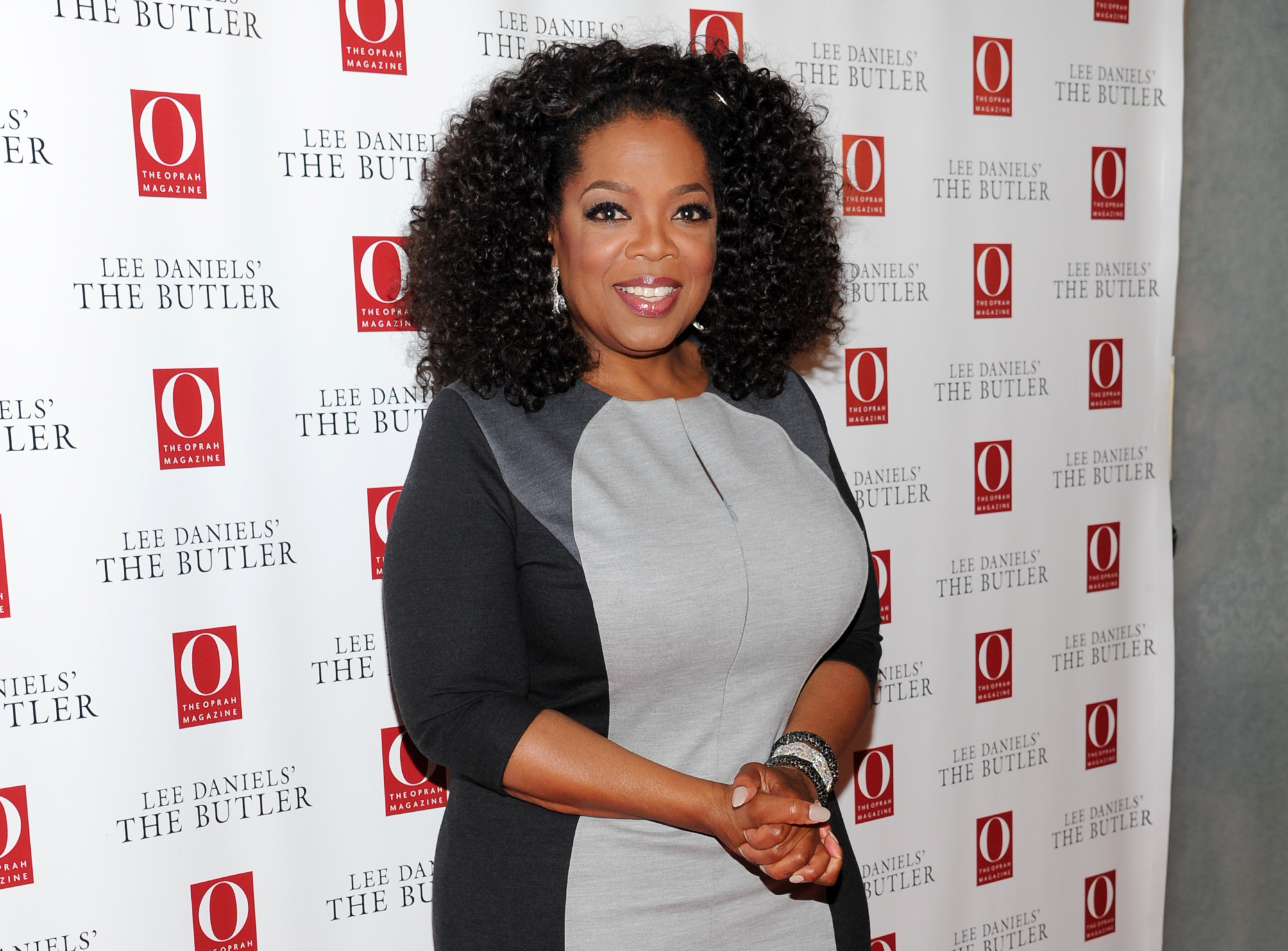 Oprah Gives a Behind-the-Scenes Peek at Her Transformation Into a 95-Year-Old Woman for 'The Butler'