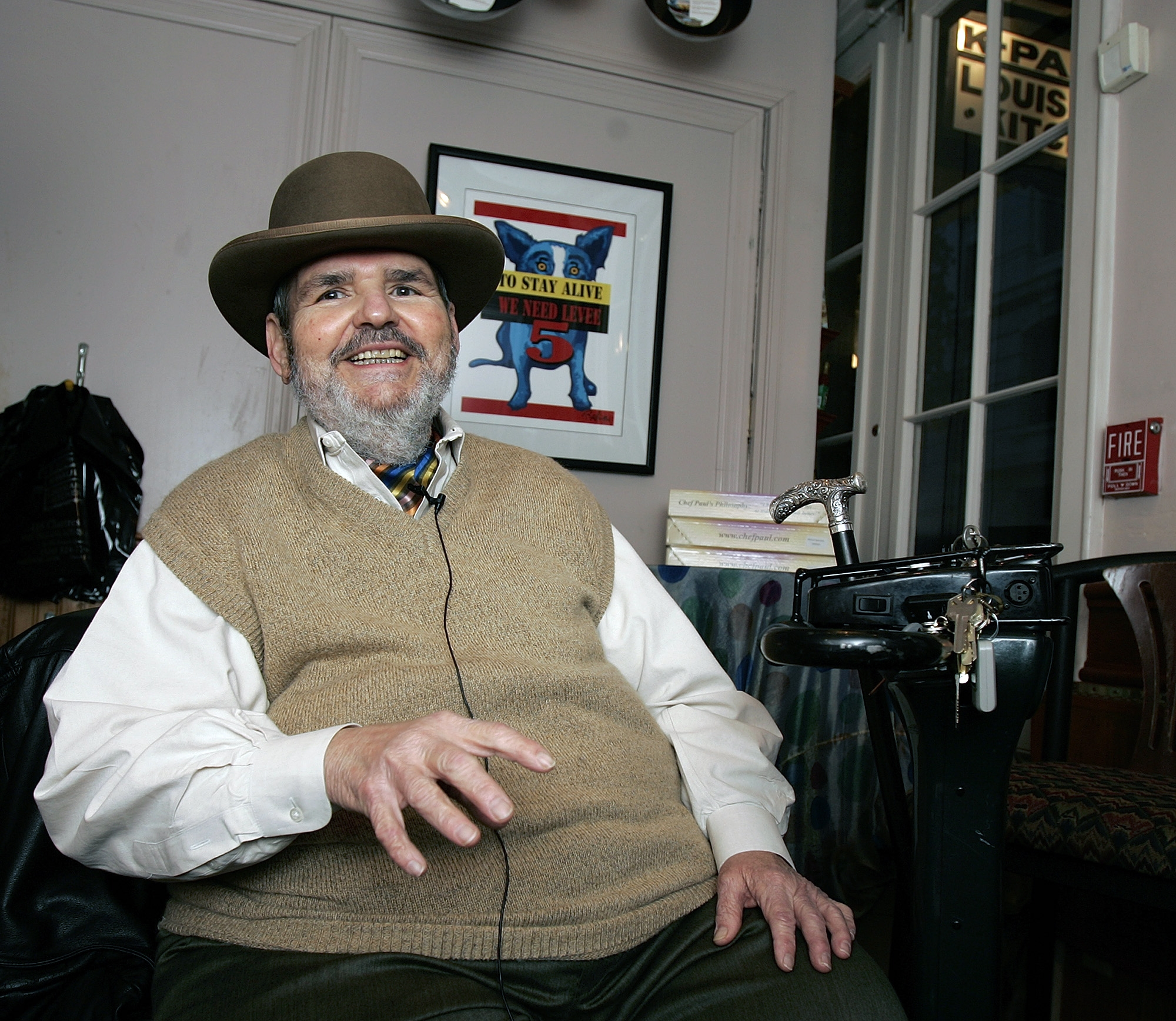 Paul Prudhomme: Cajun spices and a love of local ingredients