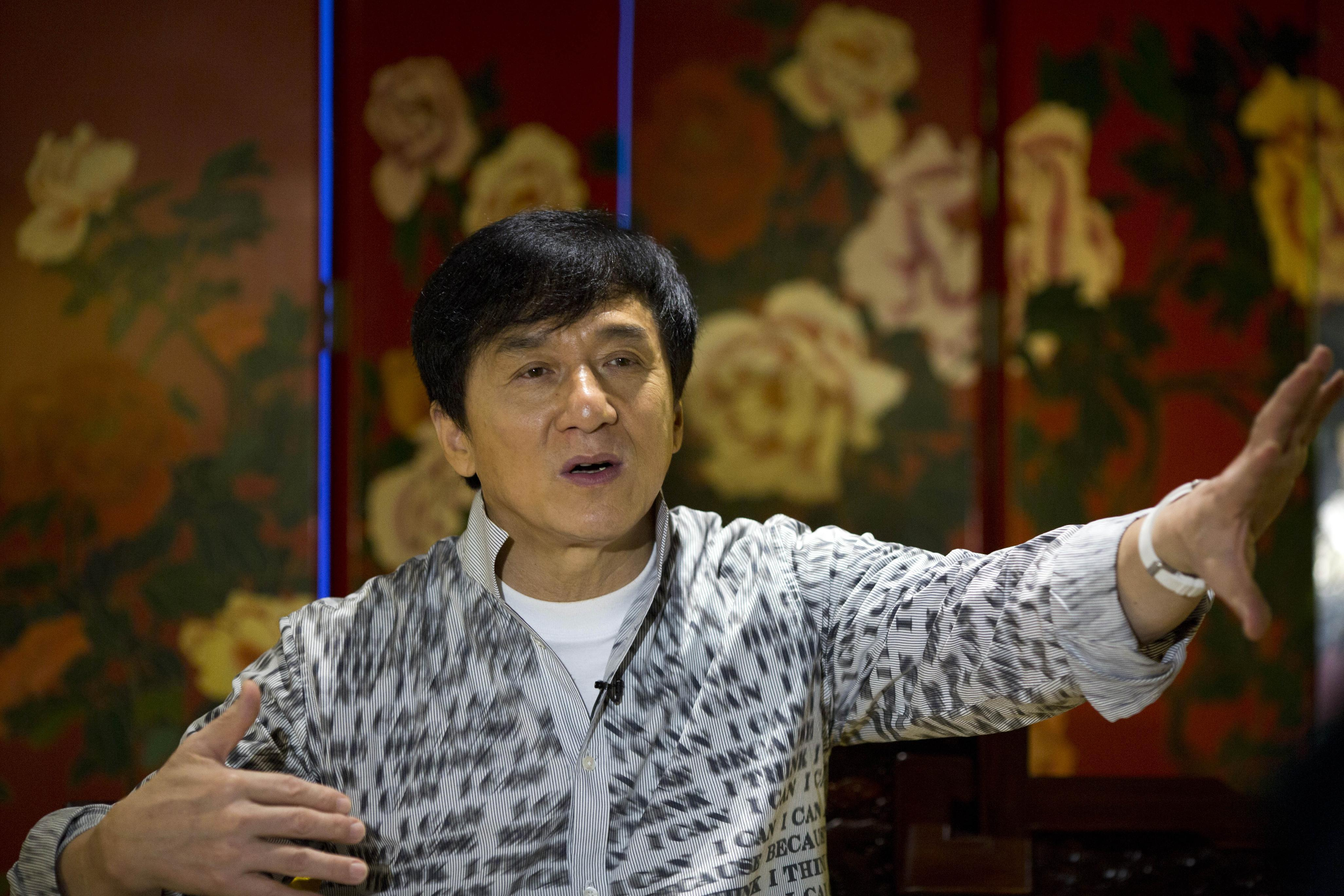 Jackie Chan wants to work with son Jaycee on album, movie
