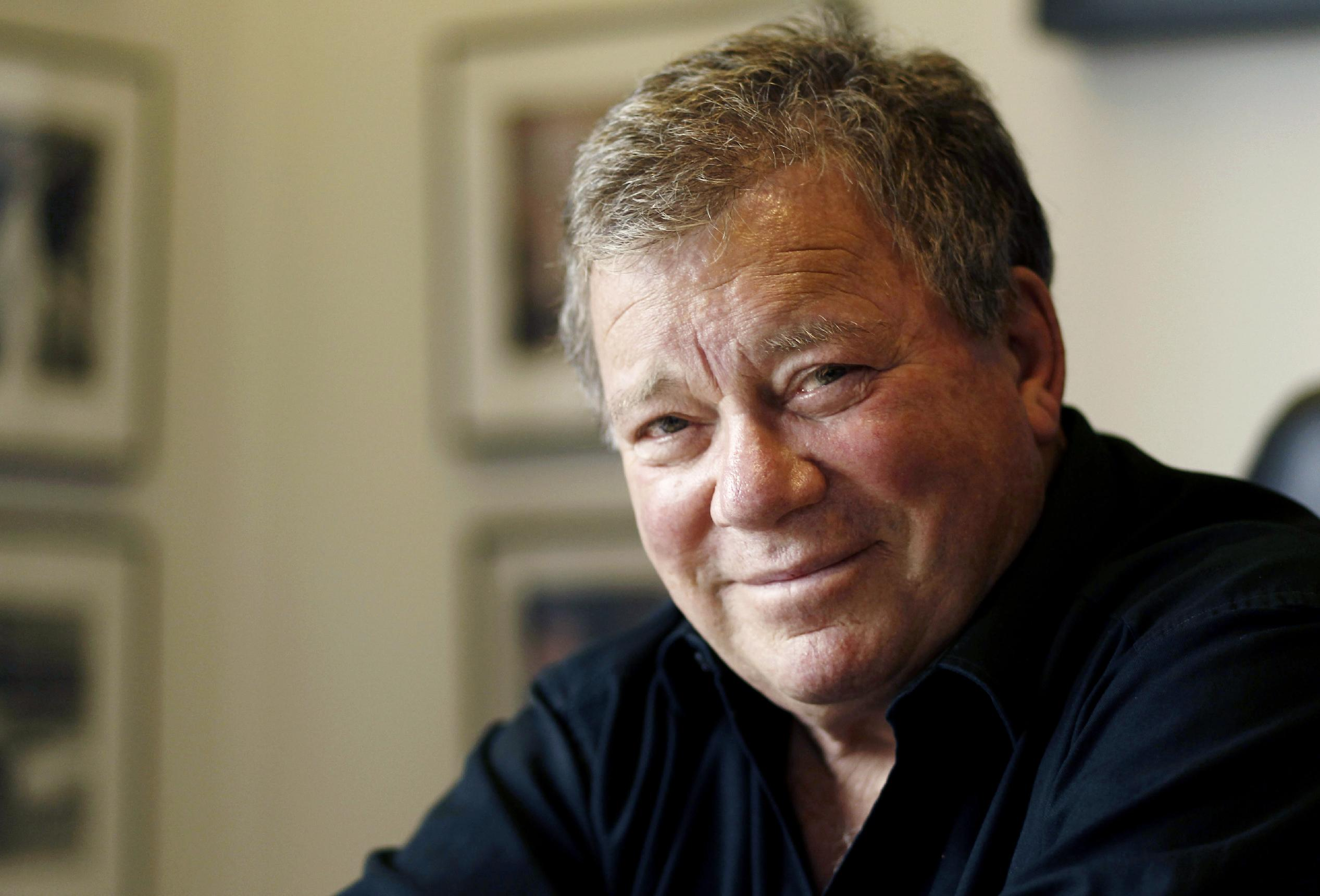 William Shatner in Los Angeles. (AP Photo/Matt Sayles)