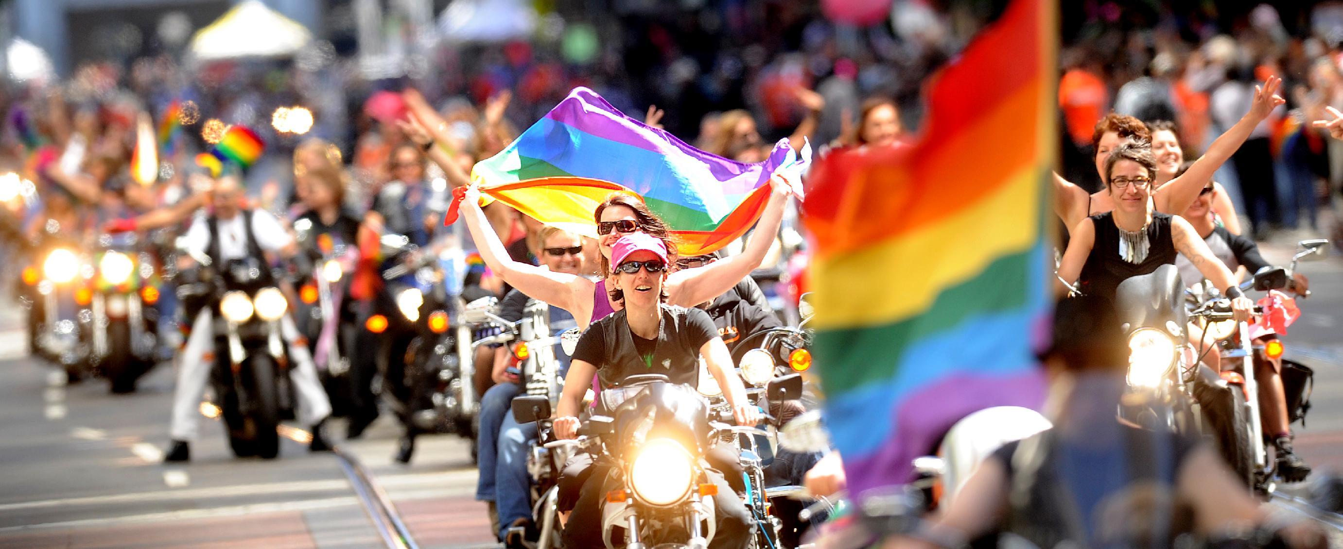 Franscico gay pride