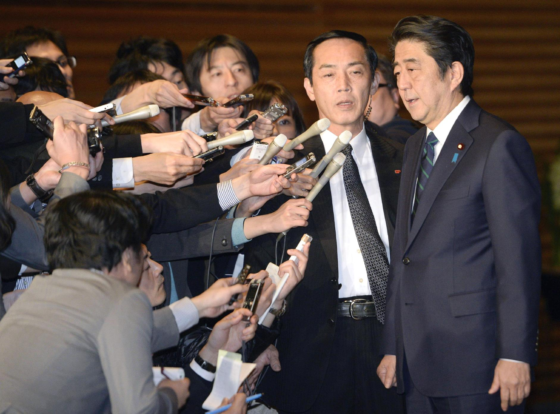 Japanese prime minister 'speechless' after video claims IS hostage dead