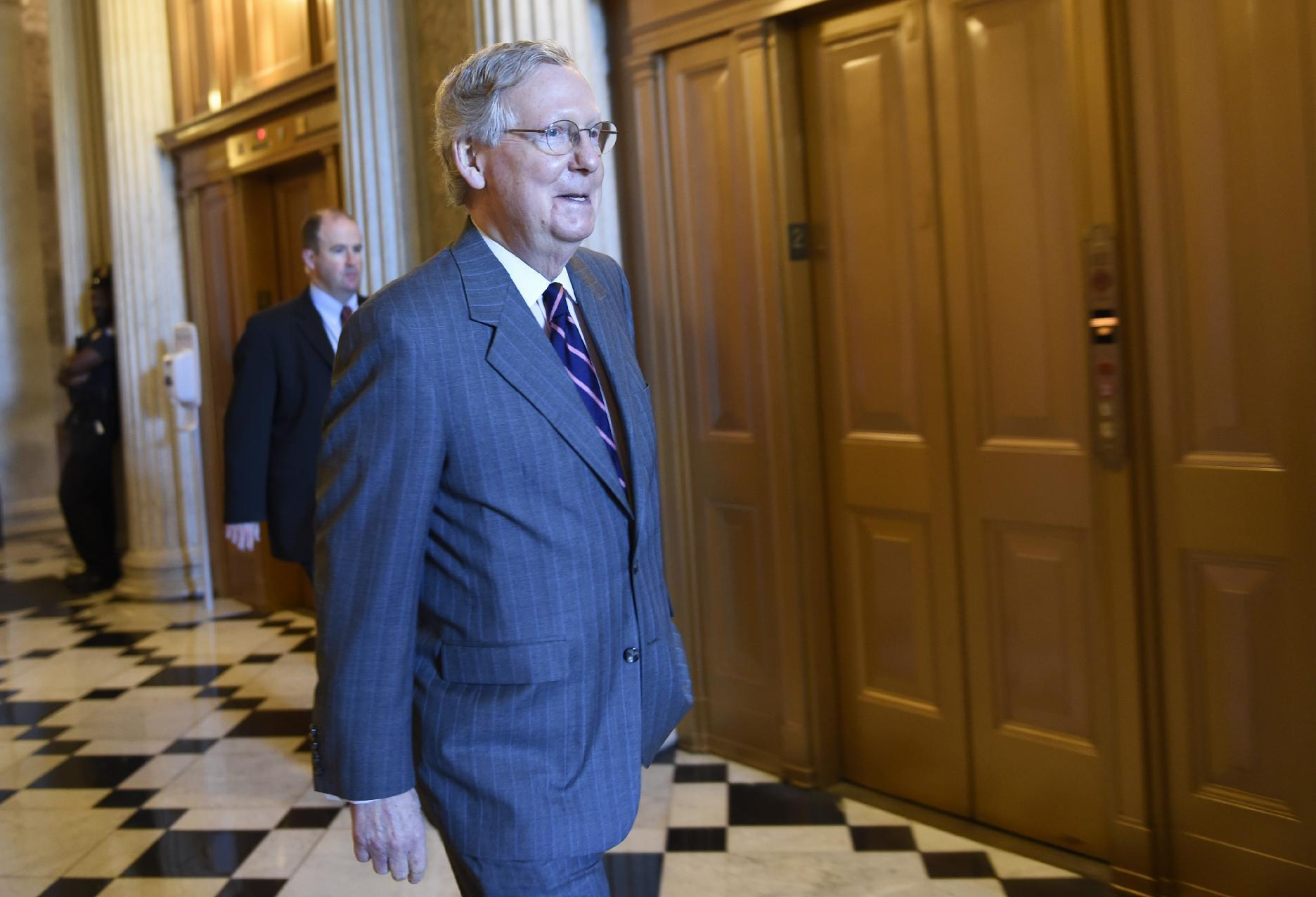 Senate clears White House-backed trade bill