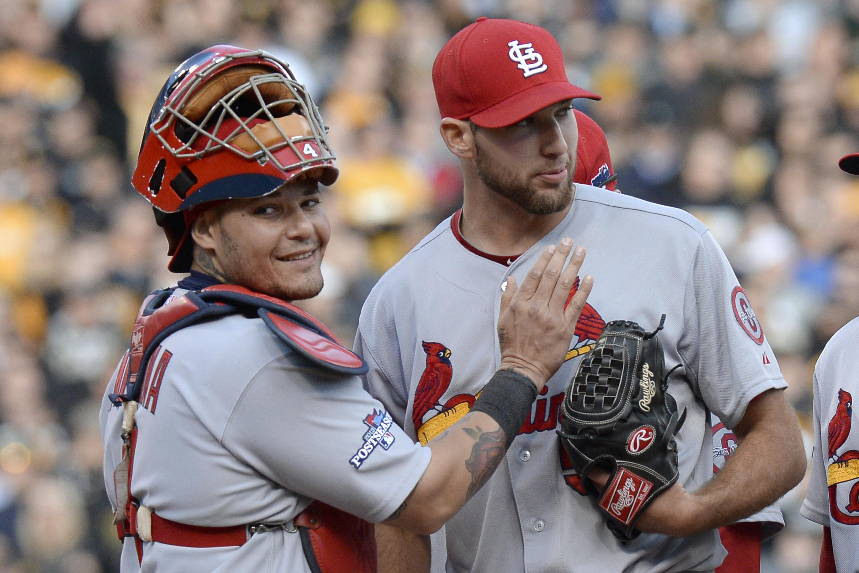 Michael Wacha carried a no-hitter into the eighth inning Monday. (AP)