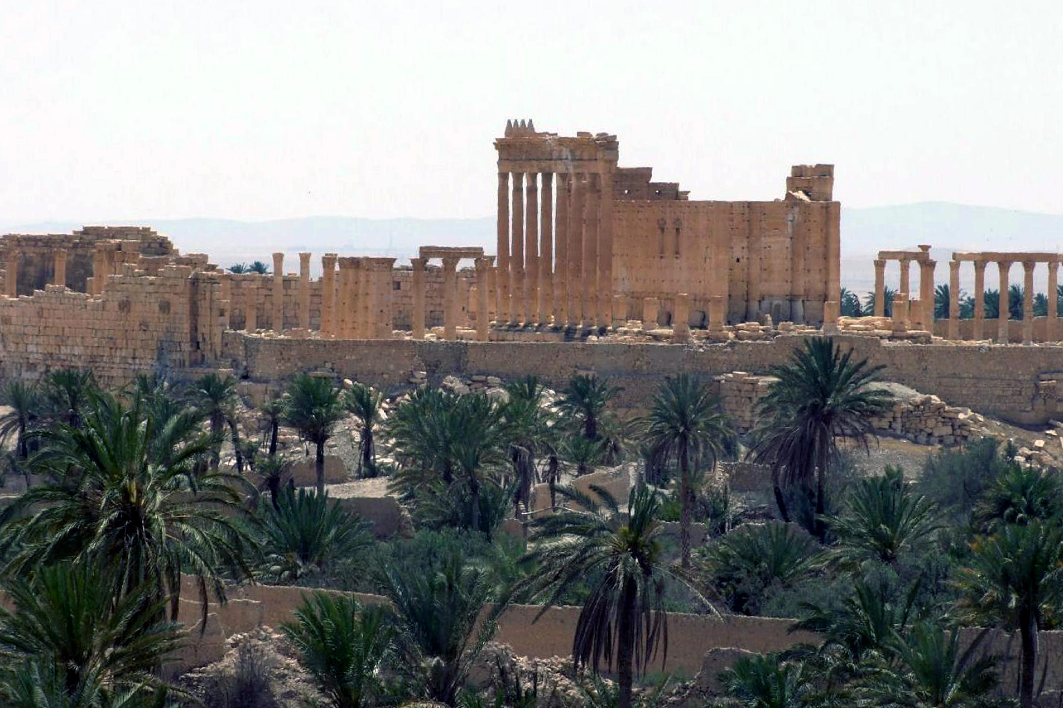 Syrian official: Islamic State militants in Palmyra's museum