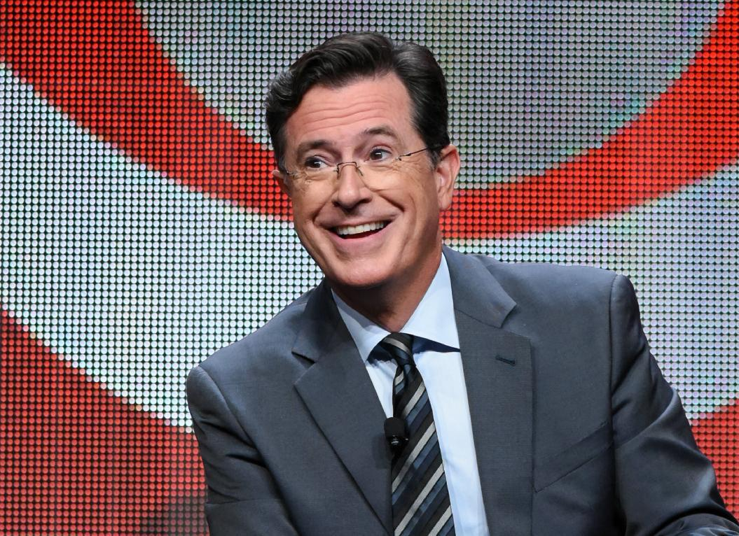 Stephen Colbert one-ups Jeb Bush raffle with 1 of his own