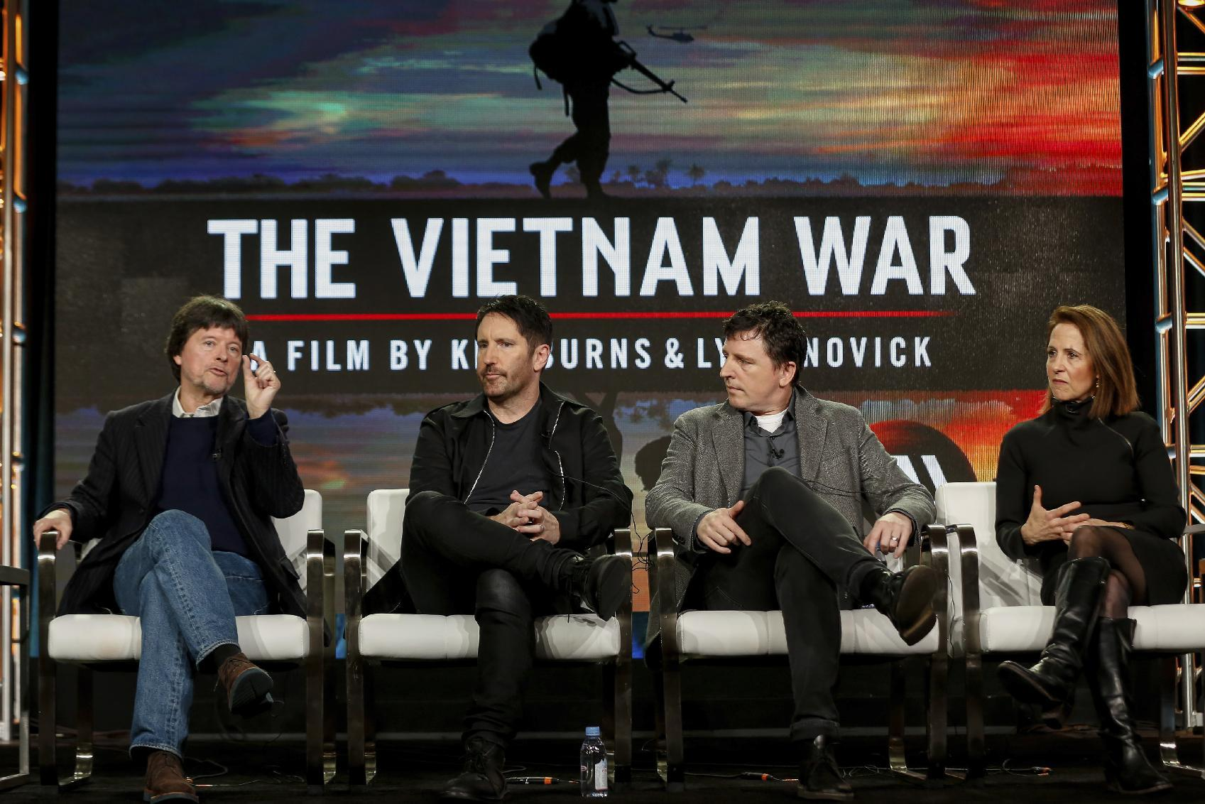 Vietnam doc makes Ken Burns, Trent Reznor partners