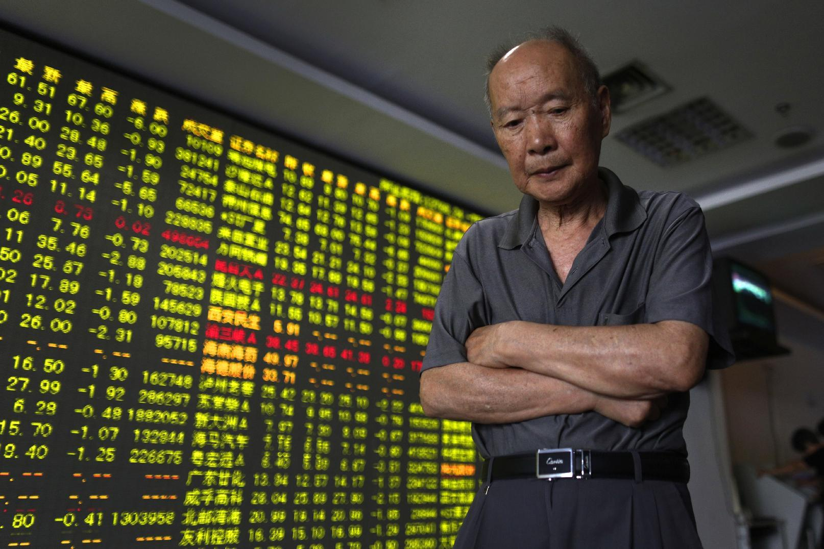 A weak open for US stocks; Chinese market drops sharply