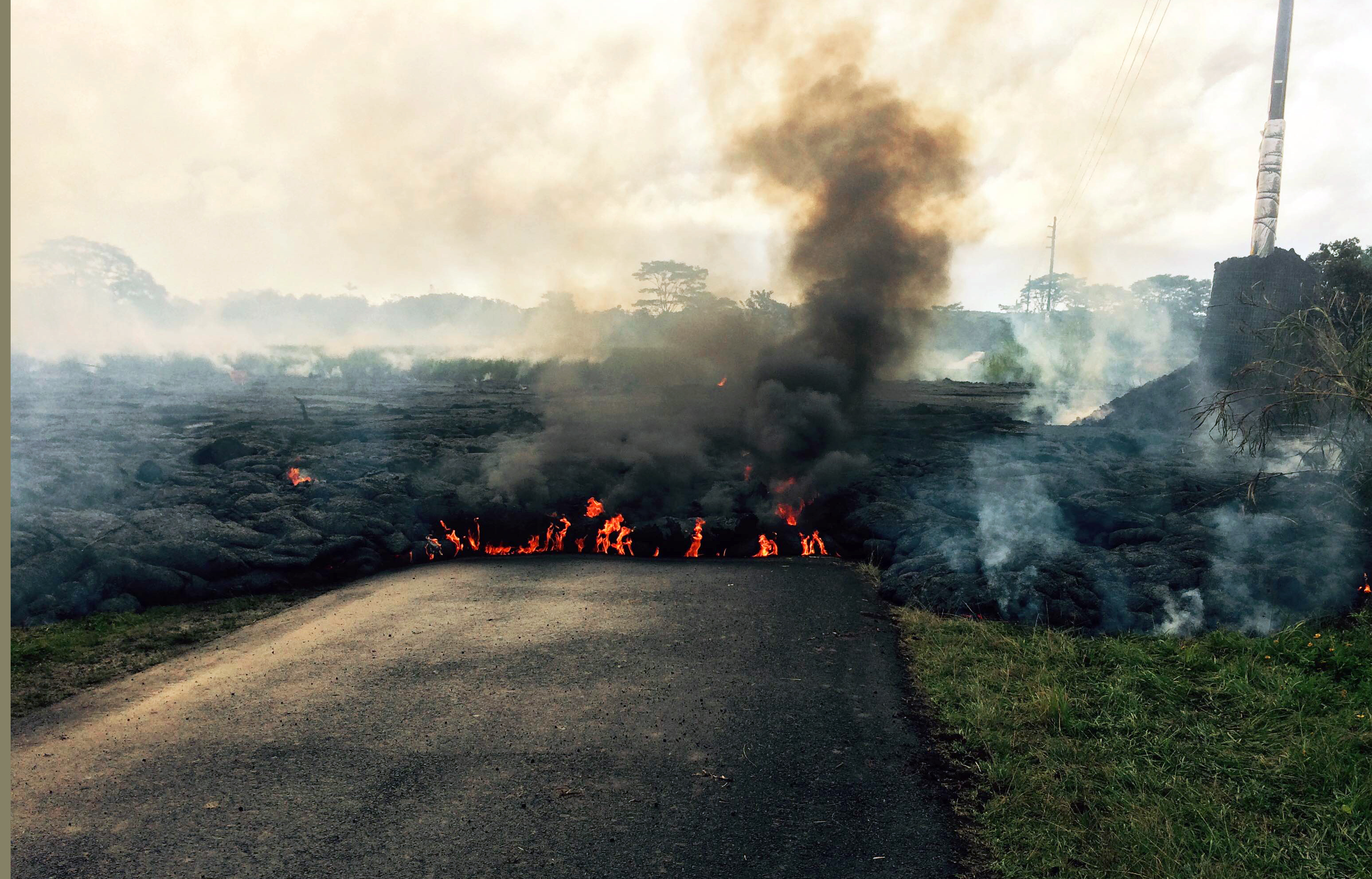 Hawaii officials warn of possible lava evacuation