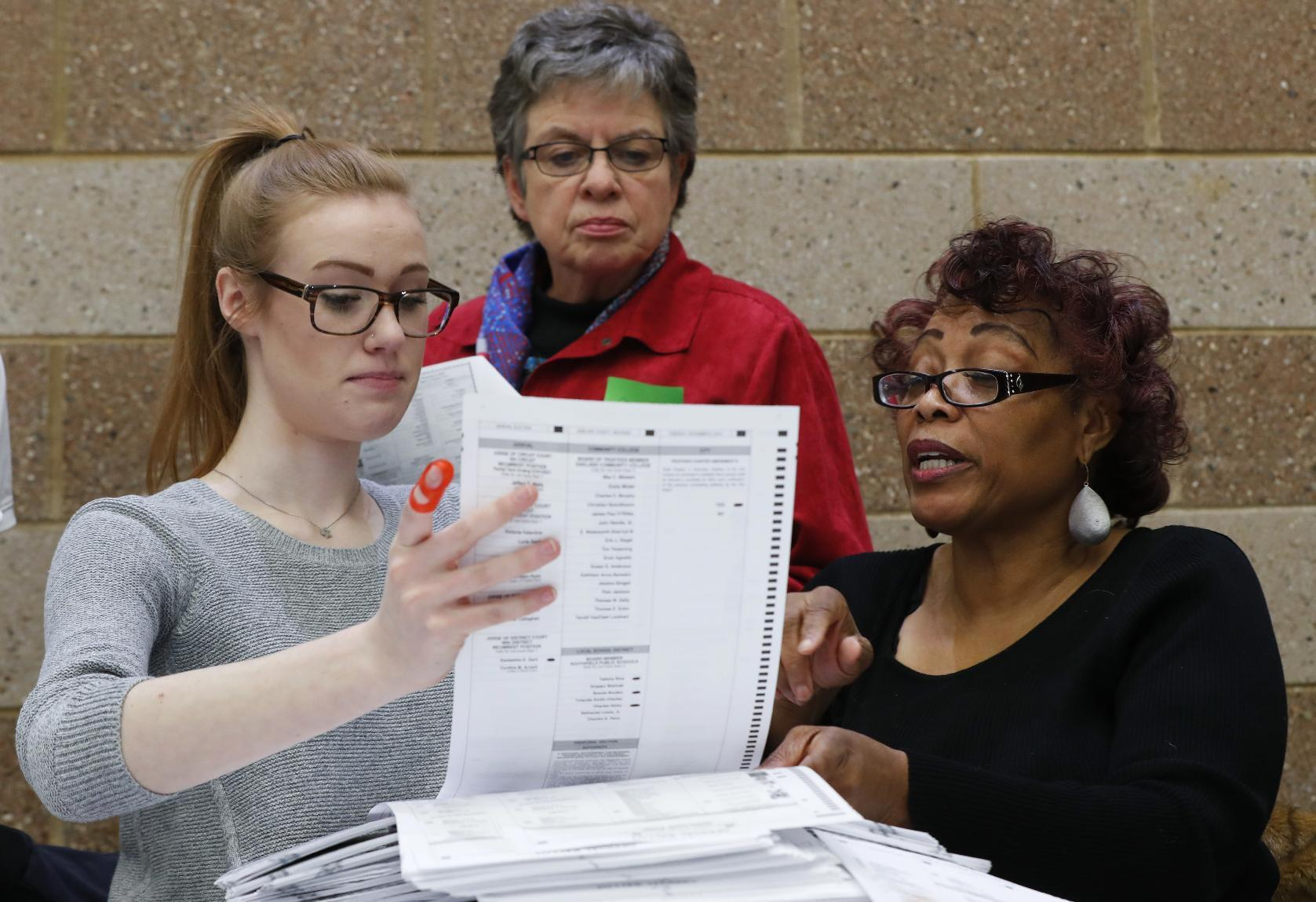 The Latest: Michigan Republicans appealing recount order