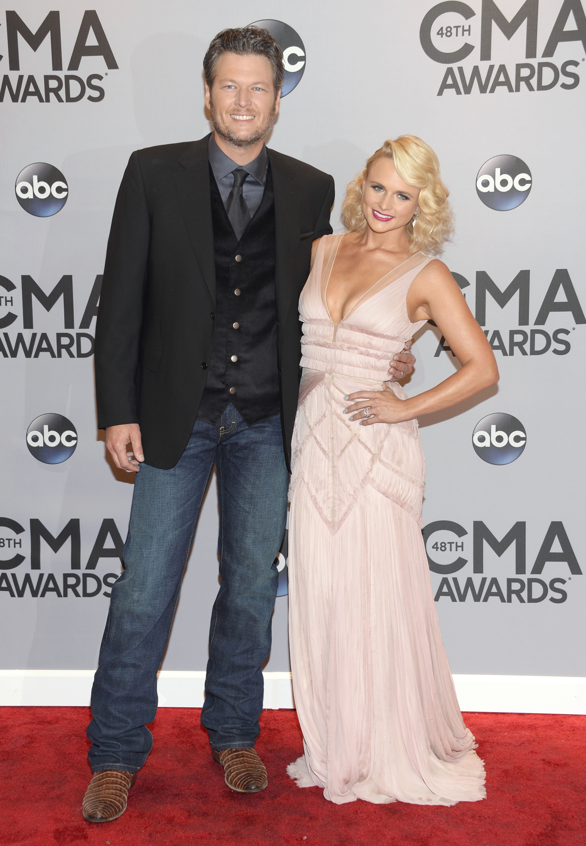 Blake Shelton: nominee, host and Lambert cheerleader at ACMs