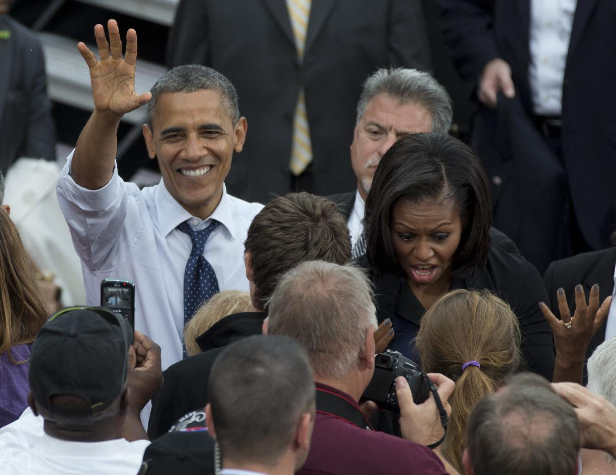 as obama, romney look for an edge, jobless intrude