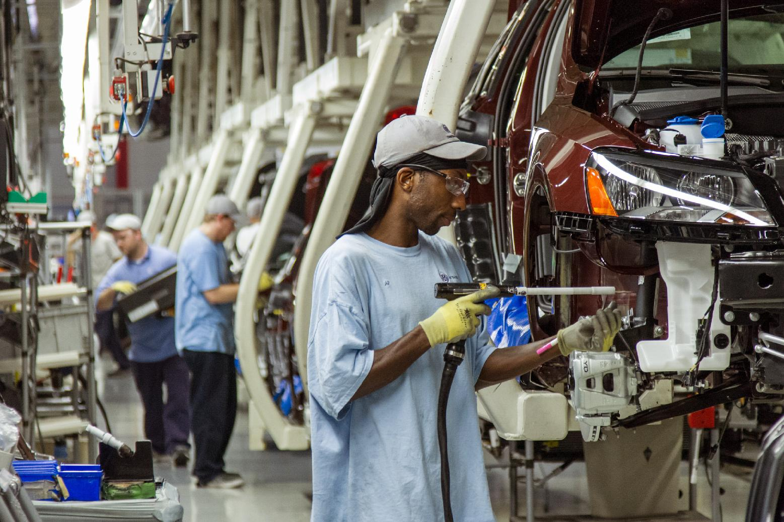 UAW and Volkswagen reach 'Consensus' on union. (AP Photo/ Erik Schelzig, file)
