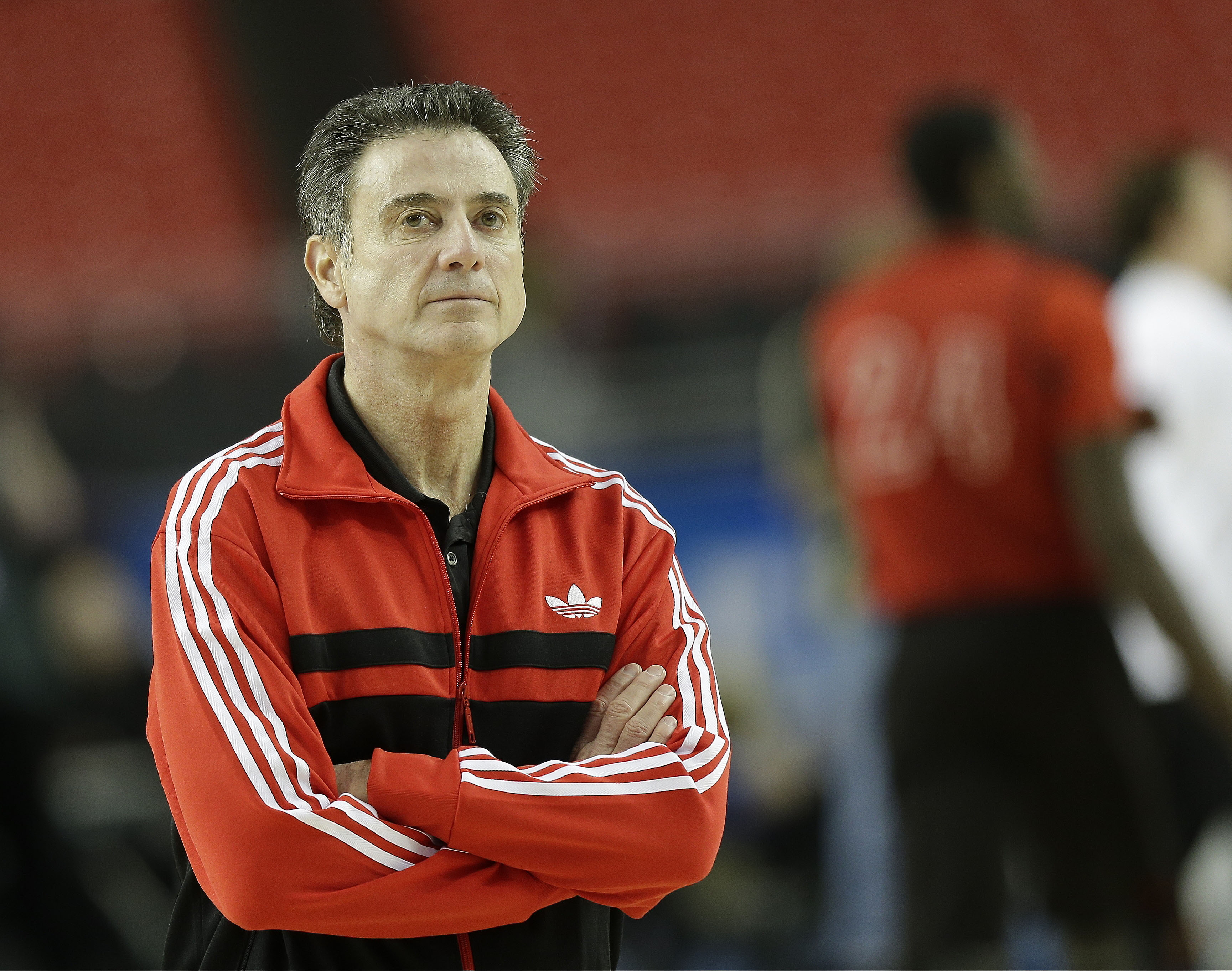 Things are looking up for Rick Pitino and the entire Louisville program. (AP)