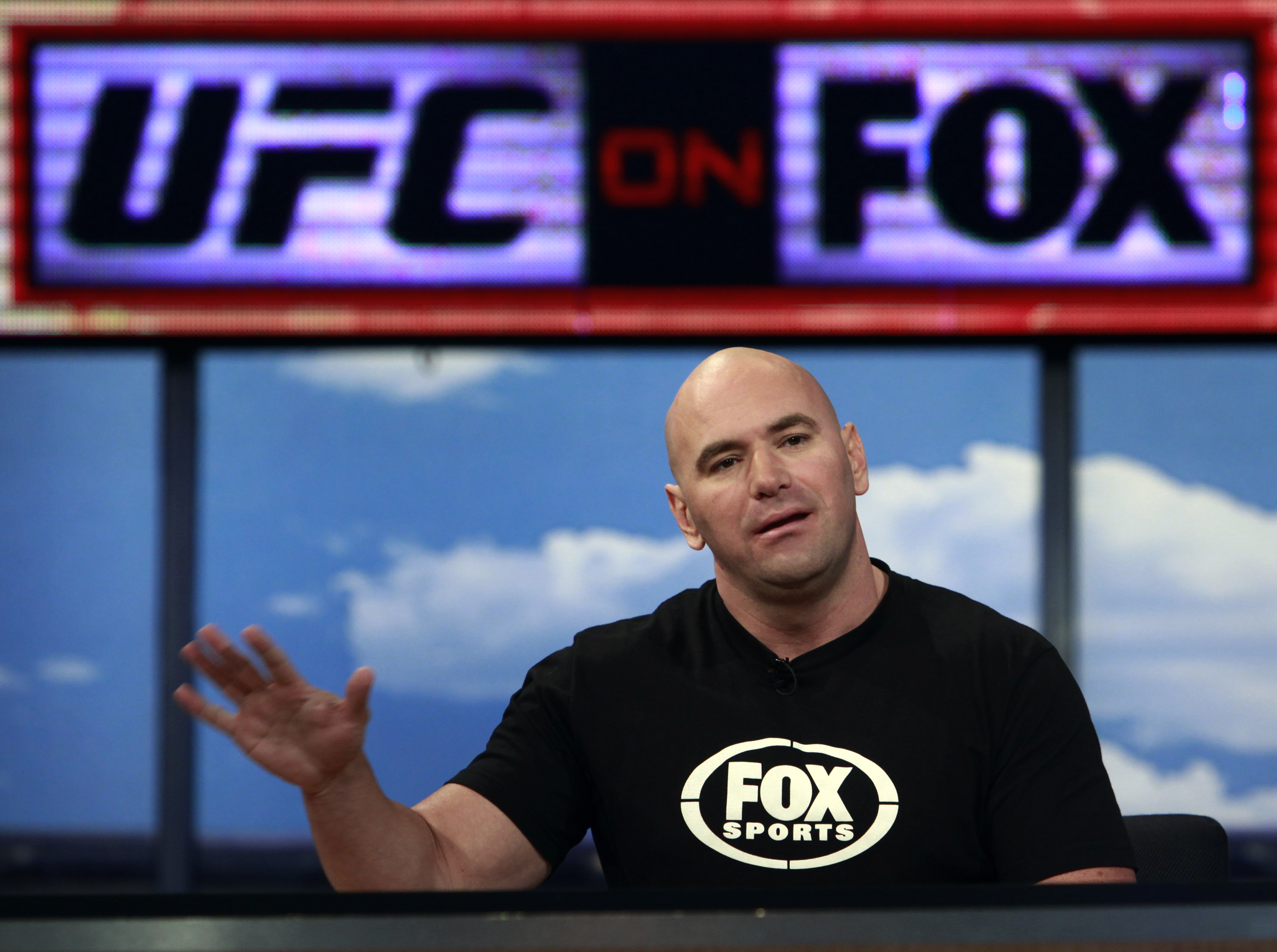 The UFC's partnership with Fox was considered one of the biggest days in company history. (AP)