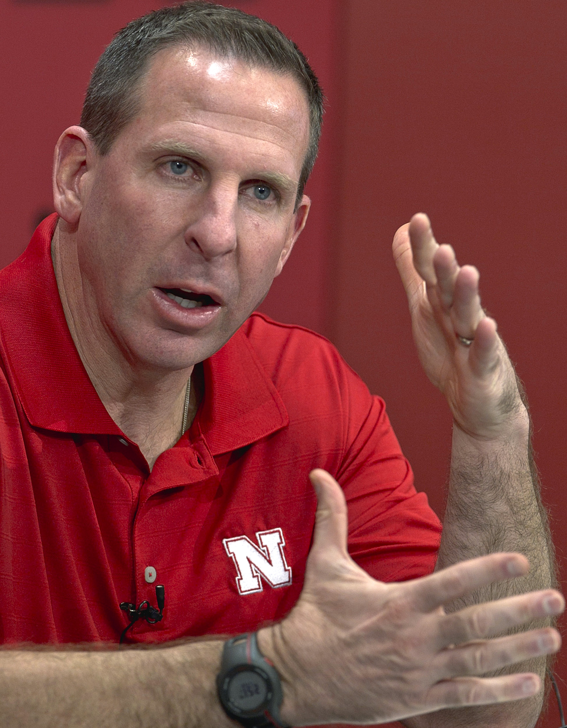 Nebraska coach Bo Pelini won't recruit Penn State players. Well, probably won't, anyway. (AP)