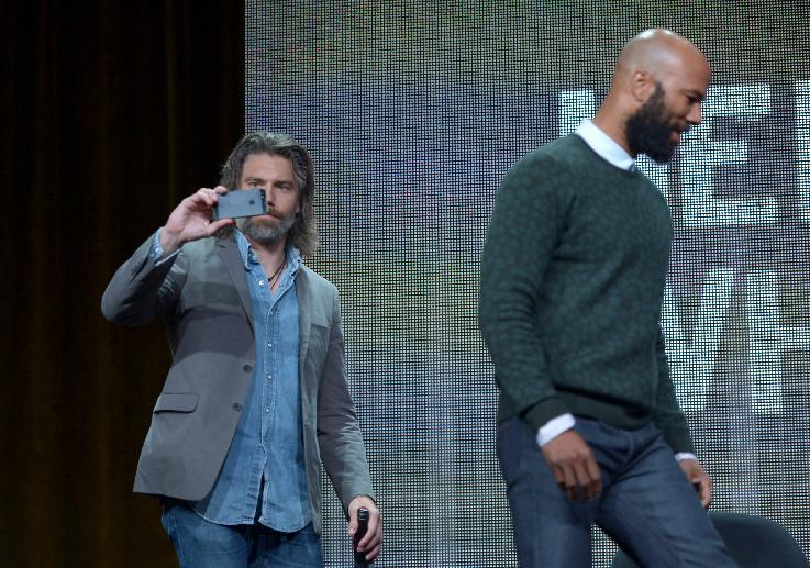 Anson Mount and Common (Photo by John Shearer/Invision for A&E/AP Images)