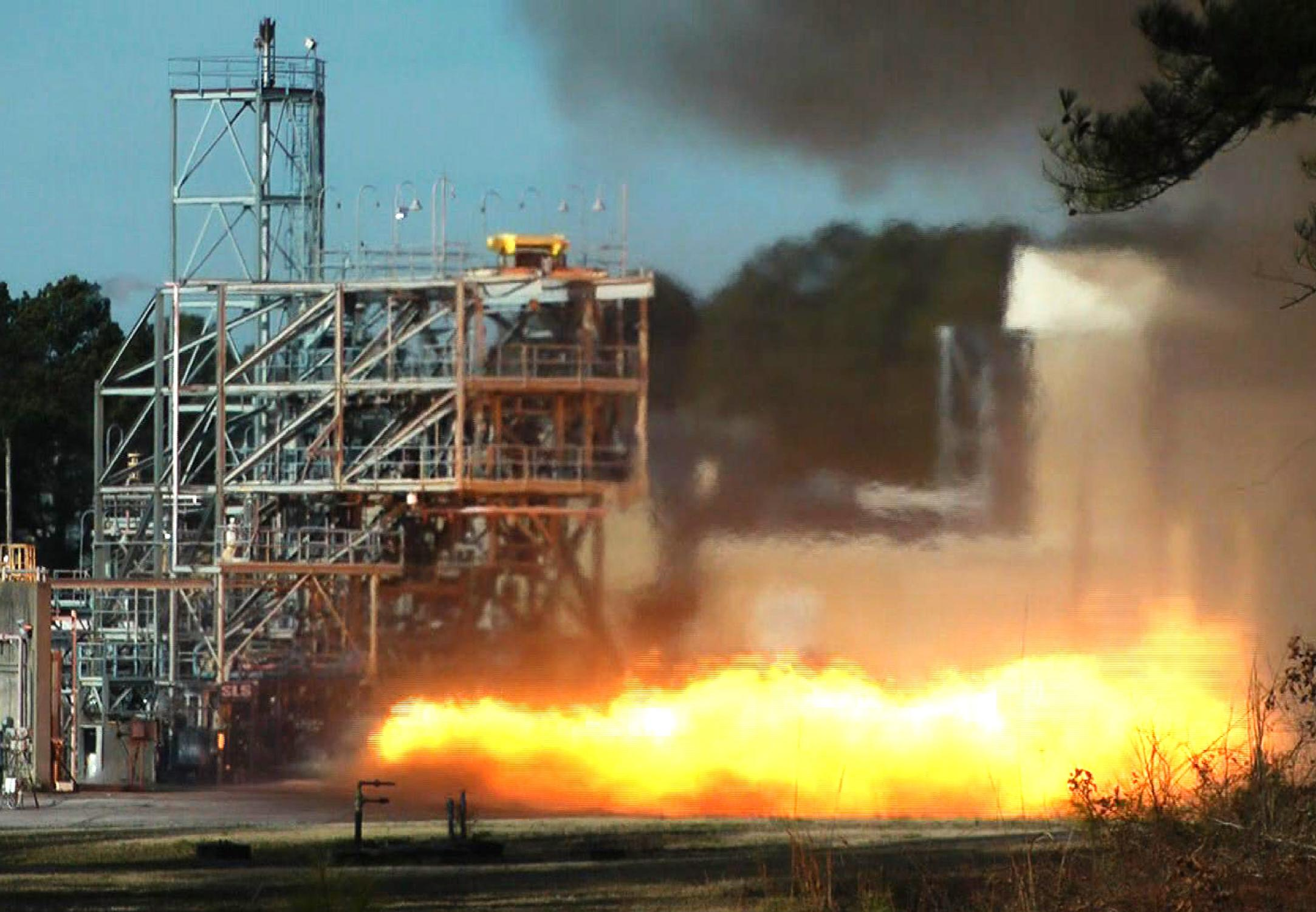 NASA testing vintage engine from Apollo 11 rocket