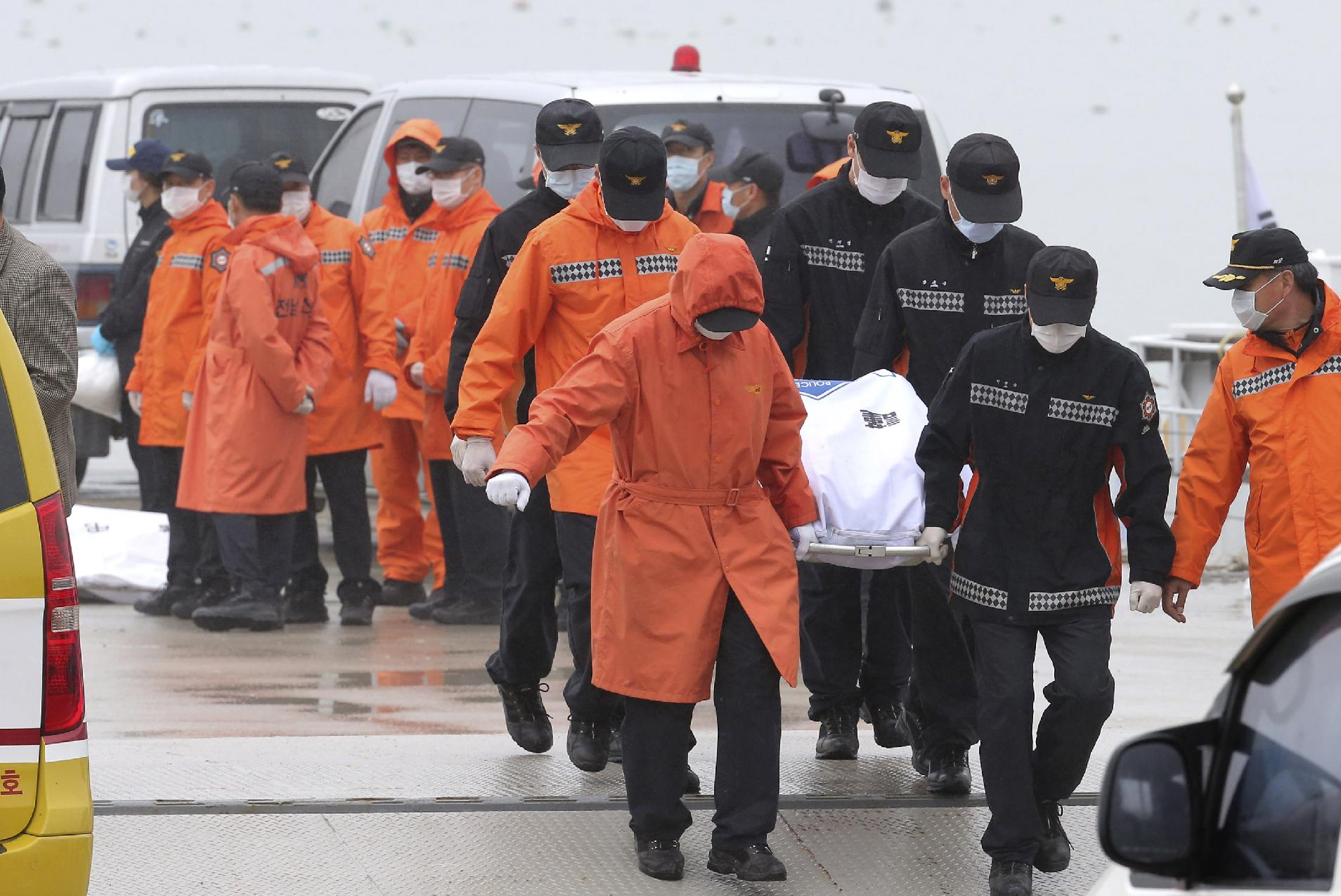 South Korean media reports ferry captain's arrest