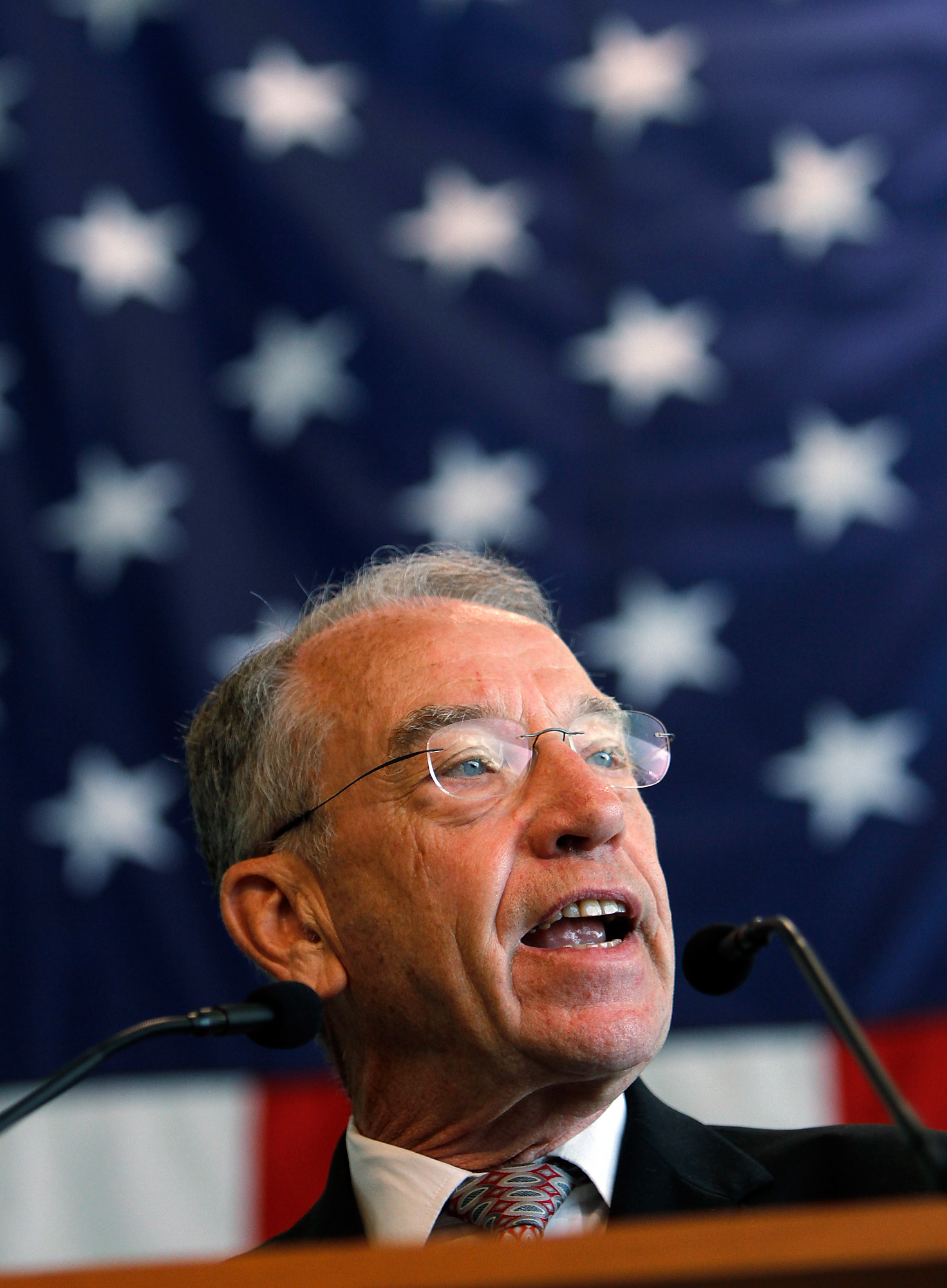 Sen. Chuck Grassley, R-Iowa. (AP Photo/The Gazette, Brian Ray)