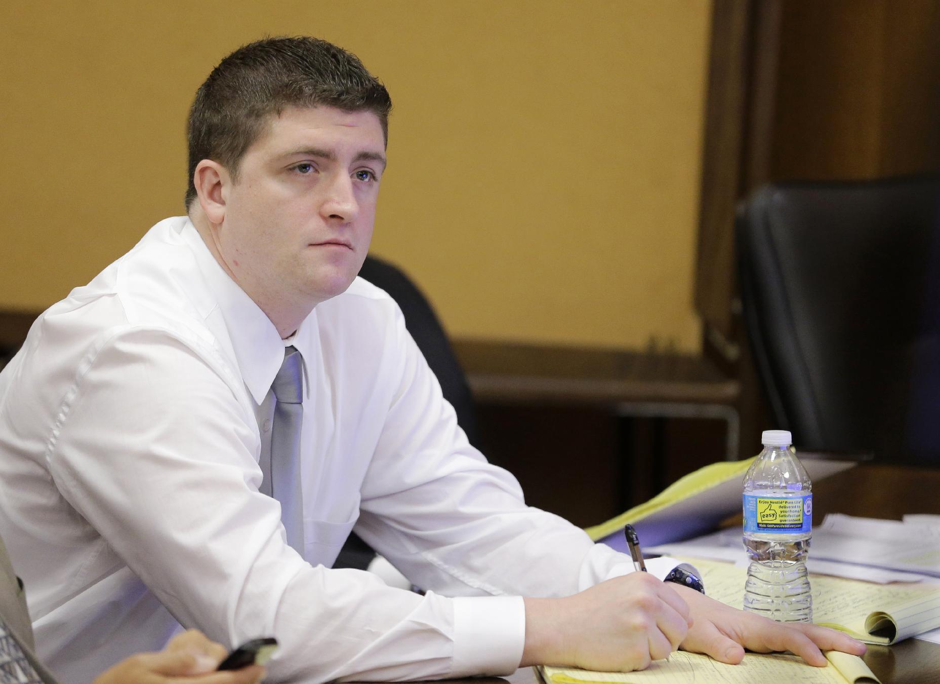 Ohio patrolman acquitted in 2 deaths amid 137-shot barrage