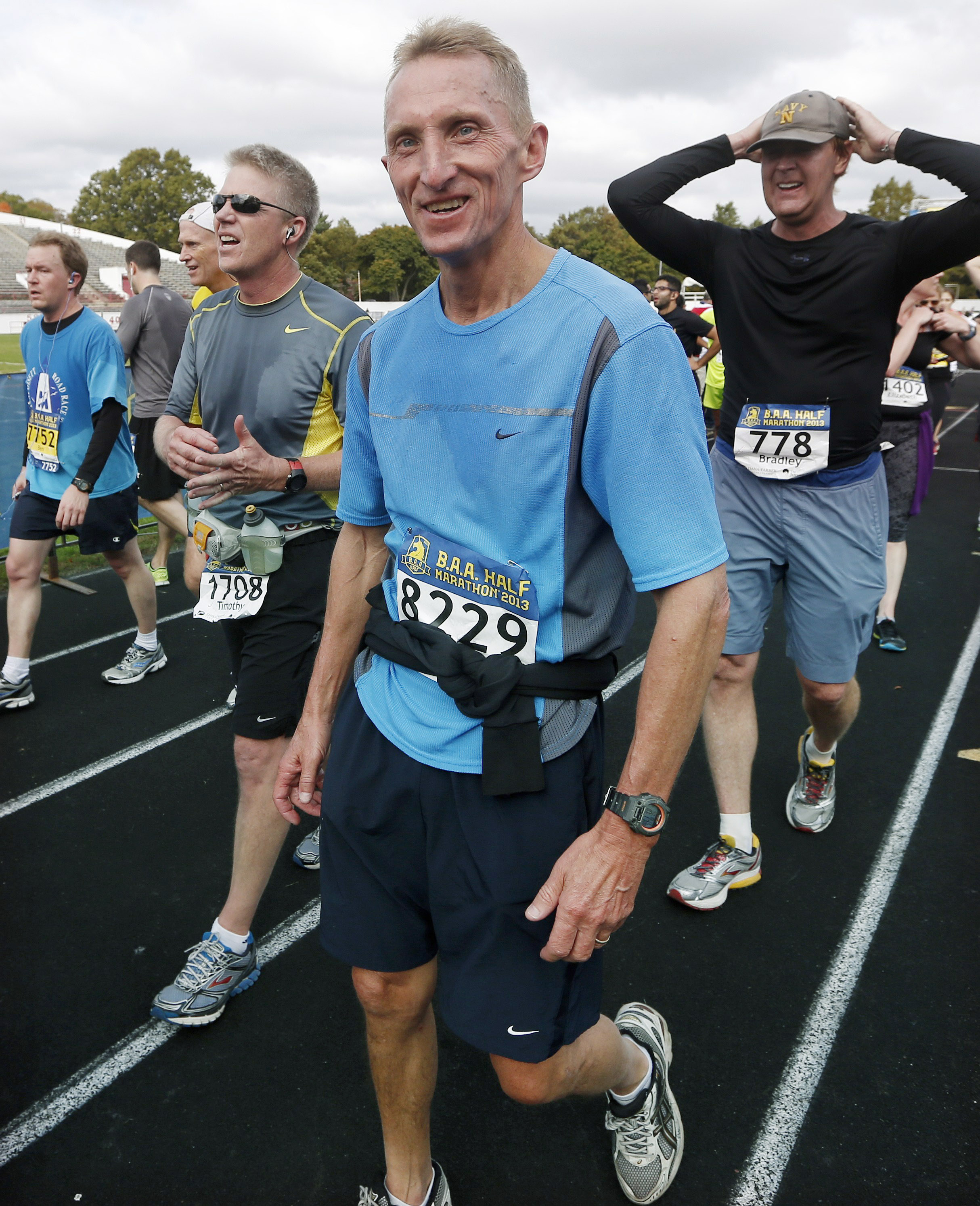 No marathon run for Boston chief