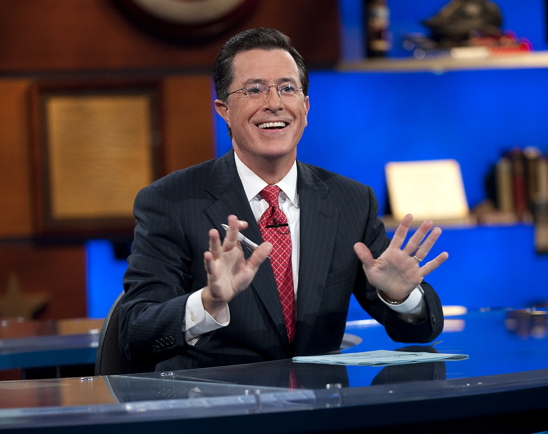 AP Explains: Stephen Colbert vs.