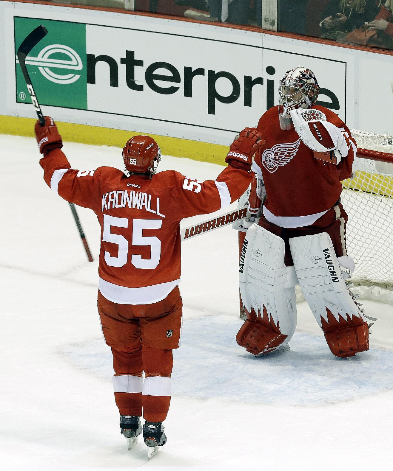 The Wings are leaning on their goaltending more than at any point in the past 25 years. (AP)