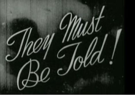 Movie poster for They Must Be Told, also known as Sex Madness, available on