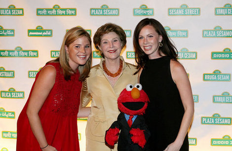 Jenna Bush Hager is certainly no stranger to the spotlight seen here with sister and mother.