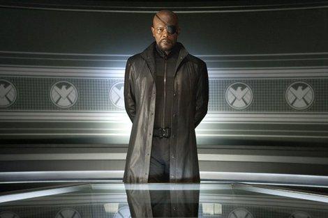 Samuel L. Jackson as Nick Fury in Marvel's The Avengers - 2012