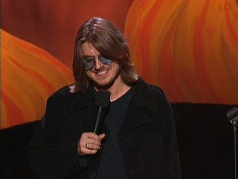 Mitch Hedberg was an interesting comic.