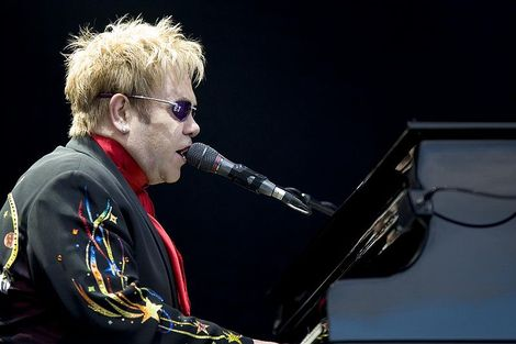 Elton John takes aim at Madonna.