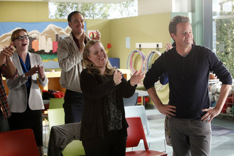 Does Matthew Perry make 'Go On' work, or has he missed his chance at Post-'Friends' success?