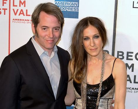 Sarah Jessica Parker and Matthew Broderick in 2009.